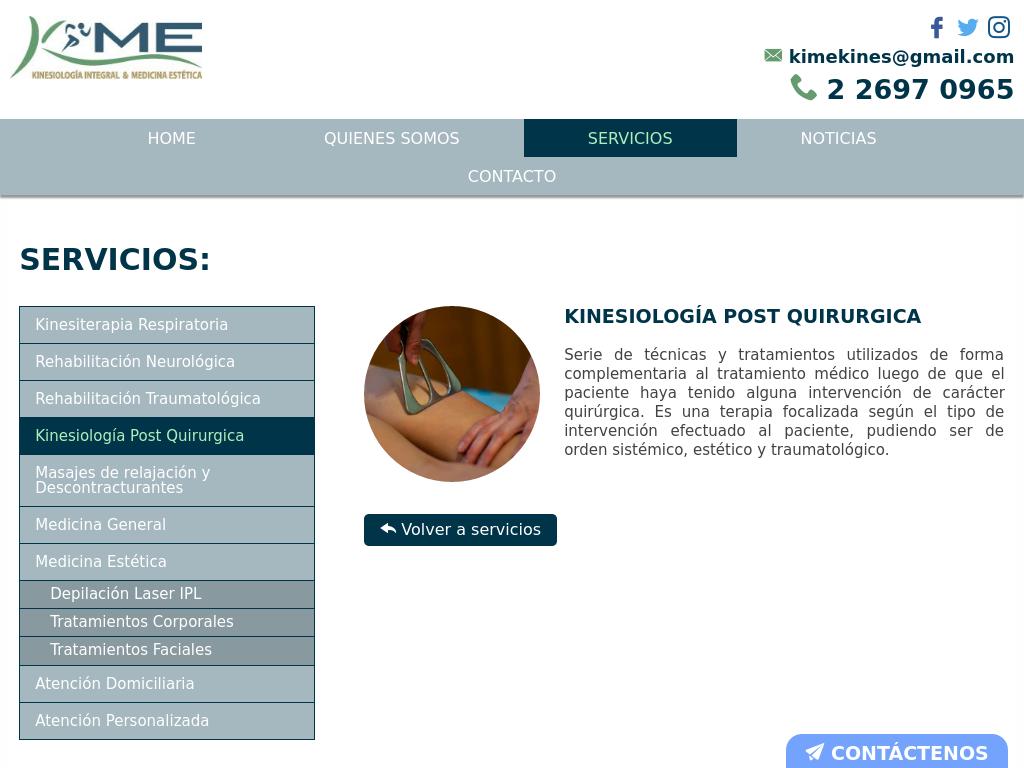 Tratamientos reductivos en Santiago Centro