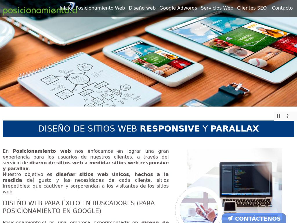 Empresas de diseño web en Providencia