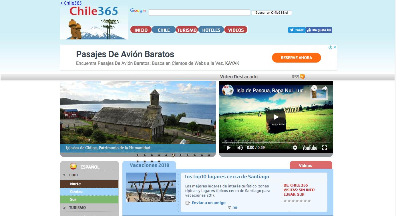 viajes a Isla de Pascua en Chile