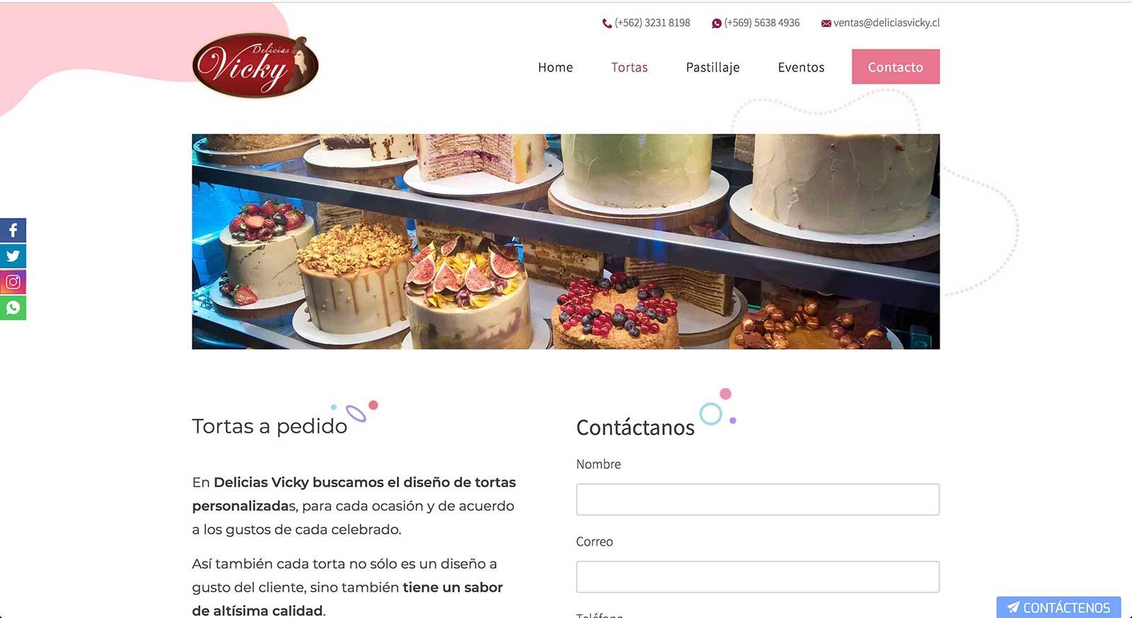 Tortas personalizadas en la Región Metropolitna