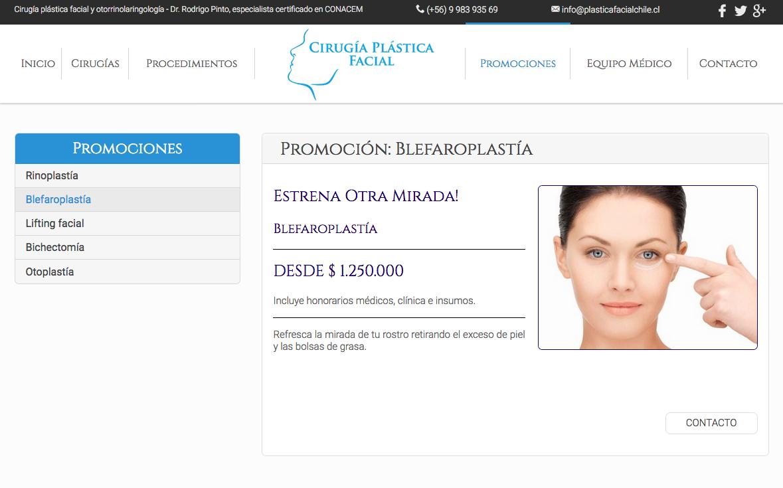 clínica de cirugía facial