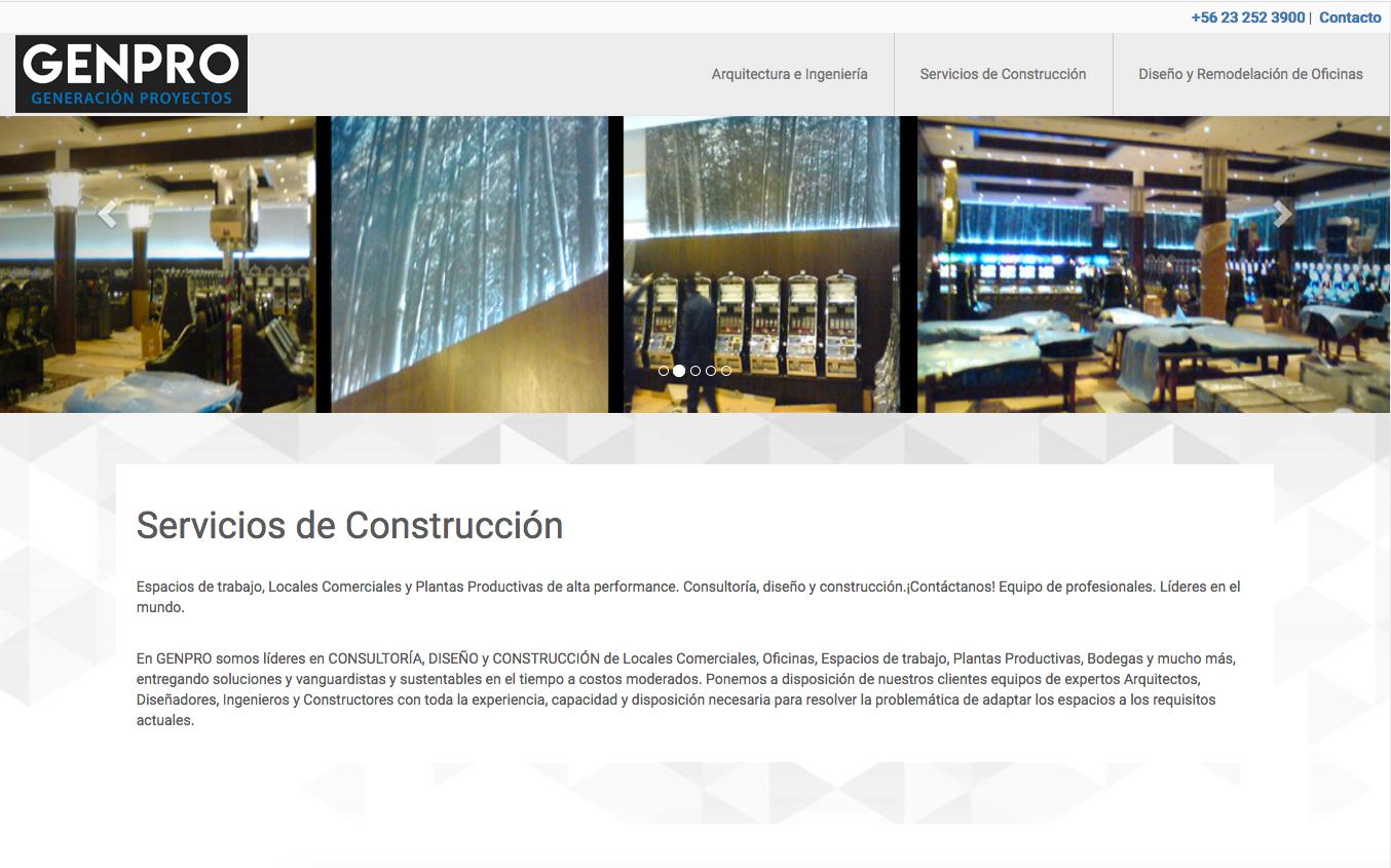 Servicios de construcción en chile