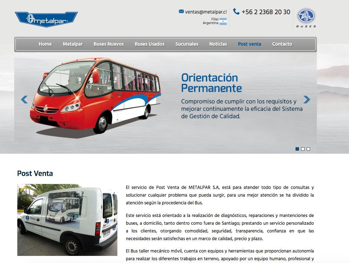 Buses urbanos importados en la RM