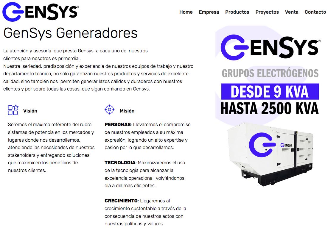 Generador electríco en santiago